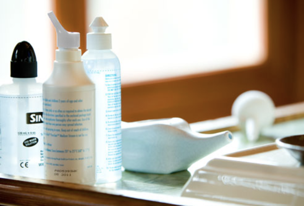 Is It Time to Wash Your Nasal Irrigation Bottle? Feature Image