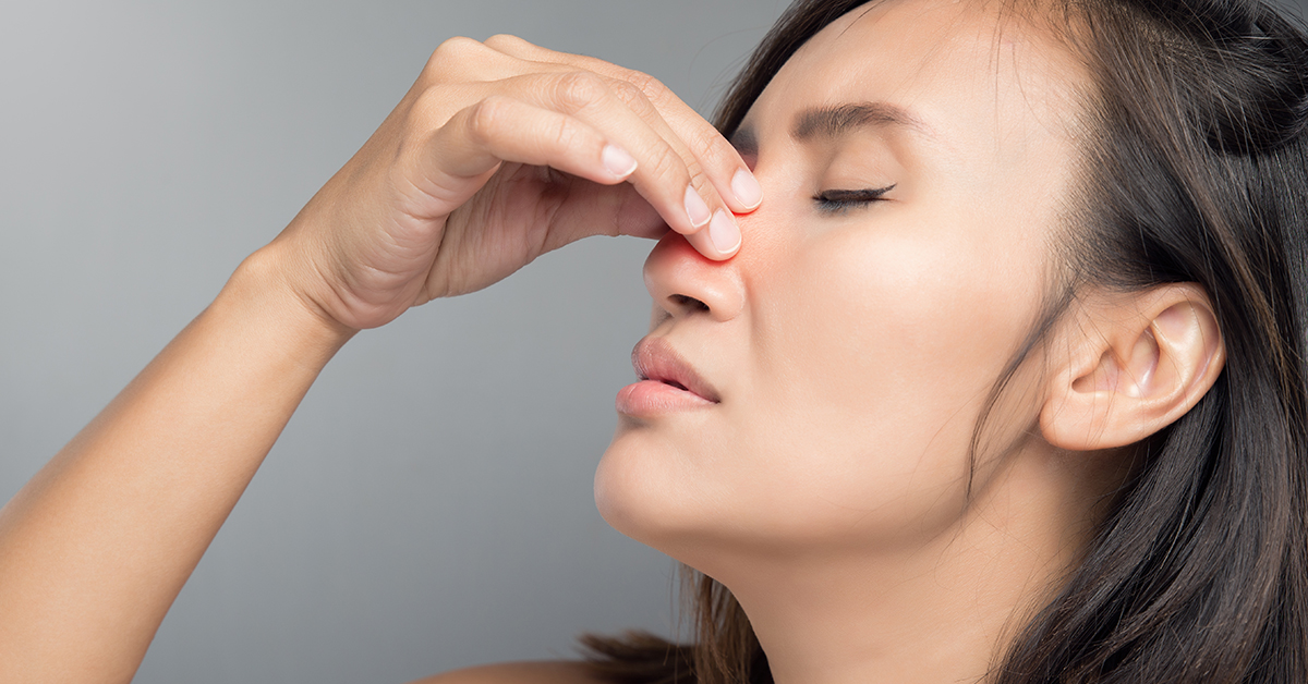 Treating Nasal Congestion and Sinus Pressure Feature Image