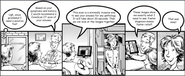 CT Scan Comic